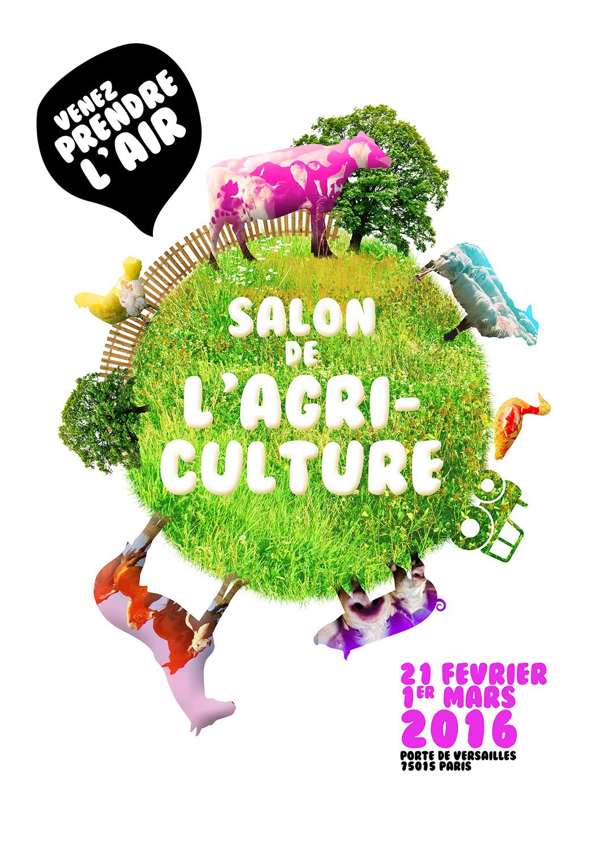 Formation photoshop affiche salon de l 39 agriculture for Salon de l4agriculture 2015